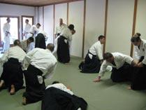 Dojo træning hos Aiki Shuren Dojo Copenhagen