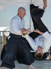 Ethan Monnot Weisgard 6th Dan Aikikai Copenhagen Aiki Shuren Dojo founder, chief instructor